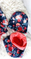 Снуд+шапка Цветы цвет №8