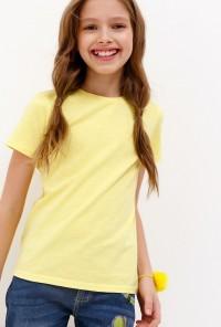 Футболка для девочек Argo желтый