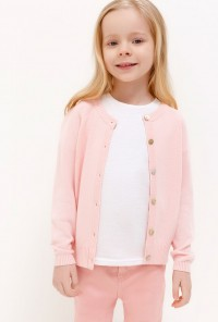 Жакет для дев Marzipan  светло-розовый 20220130128